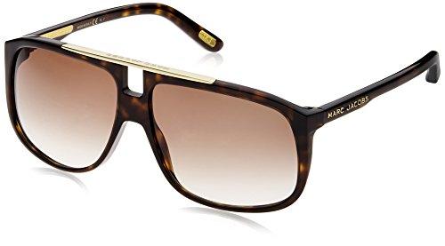 Marc Jacobs Unisex-Erwachsene MJ 252/S JS 086 60 Sonnenbrille, Dark Havana/Brown Sf,