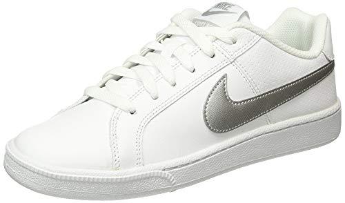 Nike Damen Court Royale Tennisschuhe, Weiß (White/Metallic Silver), 36.5 EU
