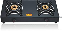 Kailash Glass Cook Tops - 2 Burner (MS Body)