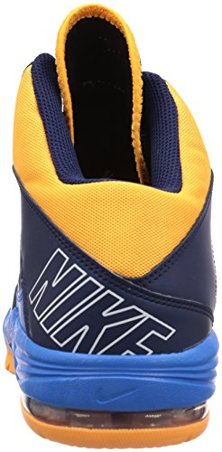 Nike  Nike Air Max Stutter Step Basketballschuhe, Chaussures de Basketball homme Schwarz (MID NAVY/WHITE-PHT BL-ATMC MNG)