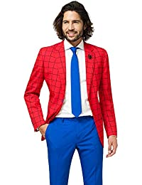 4ddfa018d8d9 opposuits Official Marvel Comics Hero Suits - Infinity War Avengers Costume  Comes with Pants