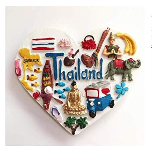 Song Salbei (Zyhoue Kühlschrankaufkleber Thailand Kühlschrank Paste Europa Reisen Alle Über Die Stereoskopische 3D Magnetische Aufkleber Salbei)
