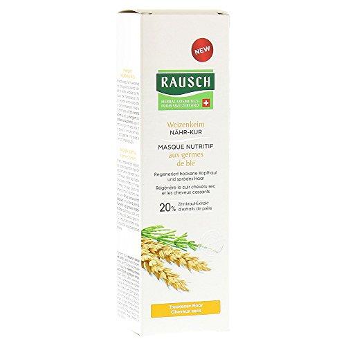 Rausch Weizenkeim Nähr-Kur (dringt tief in die Haarfasern ein und liefert wichtige Nährstoffe für gesundes Haar - Vegan), 1er Pack (1 x 100 ml) (Haar-farbe-creme Kräuter)
