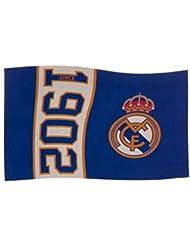 Real Madrid FC Football depuis 1902 drapeau bleu fan blanc match de bannière