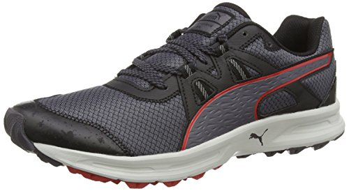 Puma Descendant Tr - Zapatillas para hombre, nero (schwarz (black-periscope-red 04)), talla 43