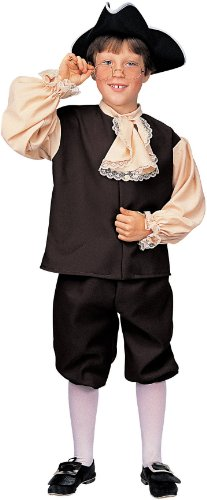 Child SZ Med 8-10, 5-7 Yrs. - Colonial Boy Costume - Good for Ben Franklin Costume - Colonial Boy Kostüm Kind