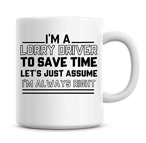er zu sparen Sie Zeit l?sst nur nehme an, ich bin immer Rechts Kaffee Tasse ()