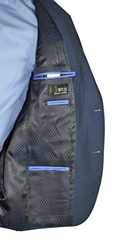 Giacca da uomo costruzioni in un nuovo blu, forma: Regular Fit, marca: Weis, Dario (art.:835 1510) Blu
