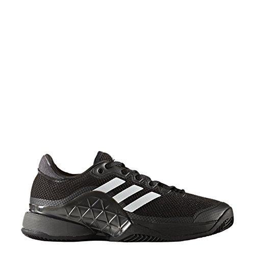 adidas Herren Barricade 2017 Clay Tennisschuhe Black (Negbas / Nocmét / Ftwbla)