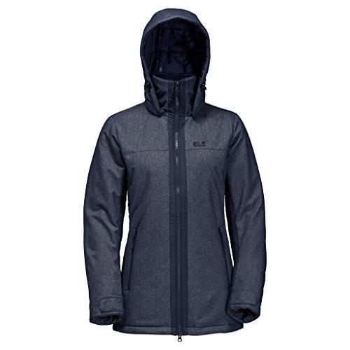 Jack Wolfskin Glacier View Womens Jacket Night Blue