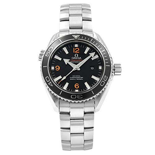Omega Seamaster Automatic Chronometer Black Dial Ladies Watch 232.30.38.20.01.002