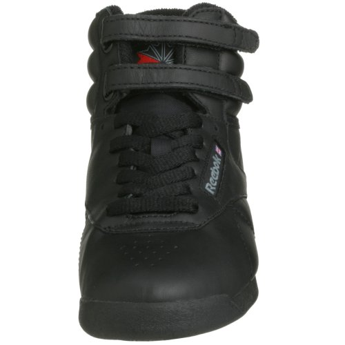 Reebok Freestyle Hi, Baskets femme Noir (Black)