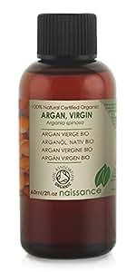 Olio di Argan Vergine Biologico - Olio Vettore Puro al 100% - 60ml
