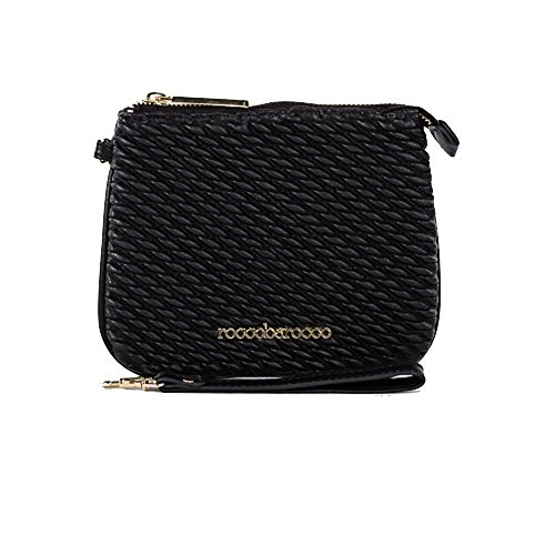 Rocco Barocco , Portamonete  nero Black Size 18cm x 15cm (One Size)