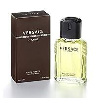 Versace L'Homme by Versace for Men-  Eau de Toilette, 100ml