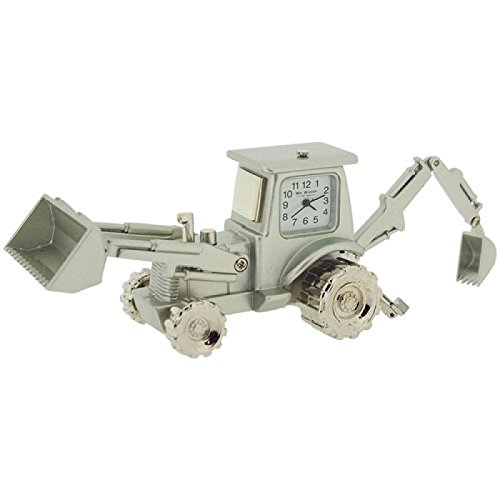 diseno-de-metal-en-miniatura-plateado-de-sobremesa-reloj-de-coleccionista-escavadora-de-carton-camio
