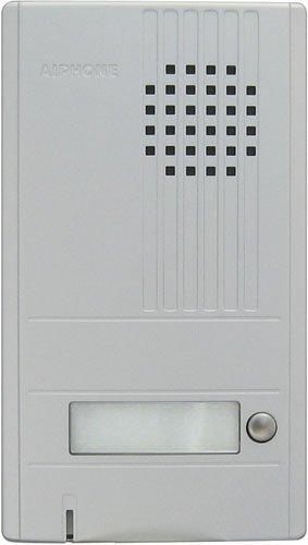 Aiphone Corporation DA-1DS 1-Call Audio Entrance Station for DA Series, ABS Plastic Construction, 6-7/8 x 3-15/16 by Aiphone Corporation Aiphone 1 Call