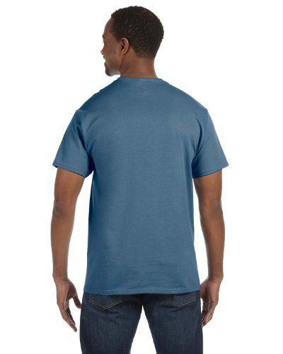 Hanes Mens T-Shirt (5250) Denim Blue