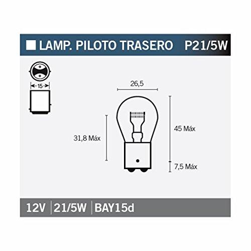 Preisvergleich Produktbild Osram 7528 ORIGINAL P21/5W, Blinklichtlampe, 7528, 12V, 1 Lampe