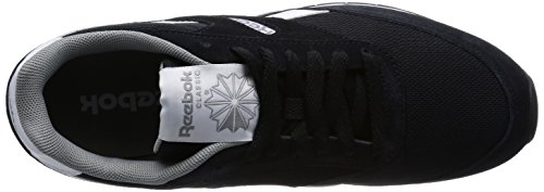 Reebok Gl 1200, Chaussons Sneaker Adulte Mixte Noir (Black/Flat Grey/White)