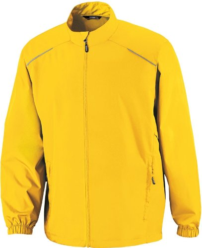 365 Core Men's motiver non-Veste coupe-vent Or - CAMPUS GOLD 444