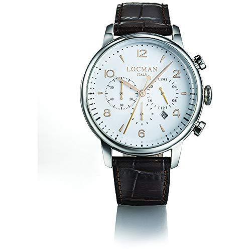Reloj Locman 1960 CRONO 0254a08r-00whrg2pt