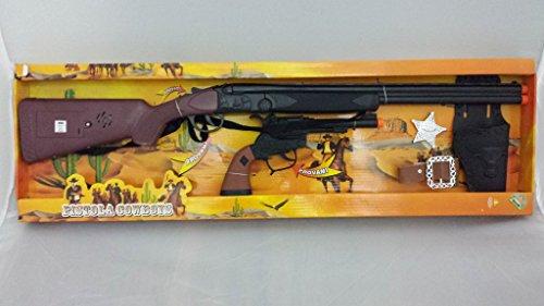 Fucile e Pistola Set Completo Cowboys 19412