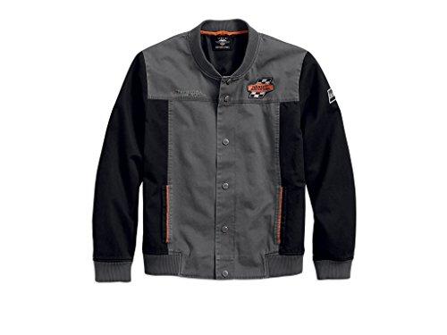 HARLEY-DAVIDSON Men's Screamin' Eagle Jacke, 97465-18VM, M (Eagle Harley Mens Davidson)