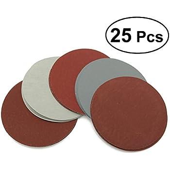 GORCHEN 100 dischi abrasivi a 8 fori per levigatrice eccentrica 125 mm grana 40 80 120 180 320 400 600 800 1500 2000 velcrati