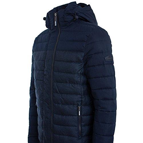 Superdry Fuji Colour Block Hooded Jacket Navy/Denim Marl Navy/Denim Marl
