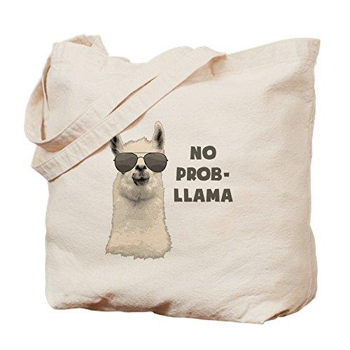 CafePress-kein Problem LAMA-Leinwand Natur Tasche, Reinigungstuch Einkaufstasche Tote S khaki