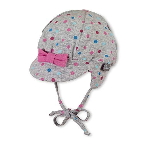 Baby Mützen Mit BART - Sterntaler Ballonmütze für Mädchen mit Bindebändern