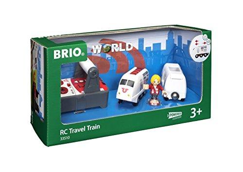 BRIO World - 33510 - TRAIN DE VOYAGEUR RADIOCOMMANDE
