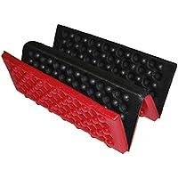 Almohadilla del asiento - SODIAL(R)Personalizado plegable Almohadilla del asiento a prueba de agua de espuma Cojin de silla Rojo + Negro