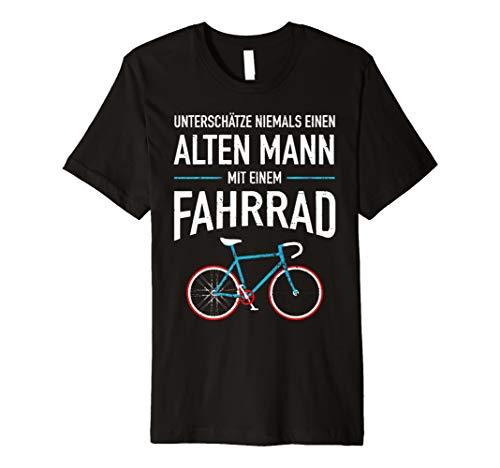 Alter Mann Fahrrad  Lustige Zitate T-shirt
