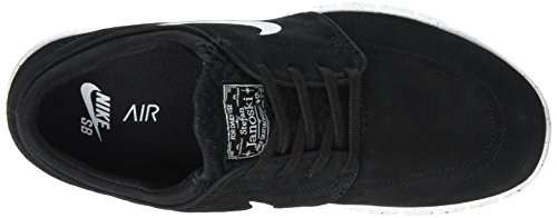 Nike Stefan Janoski Max L, Scarpe da Skateboard Uomo Nero (Black/White)