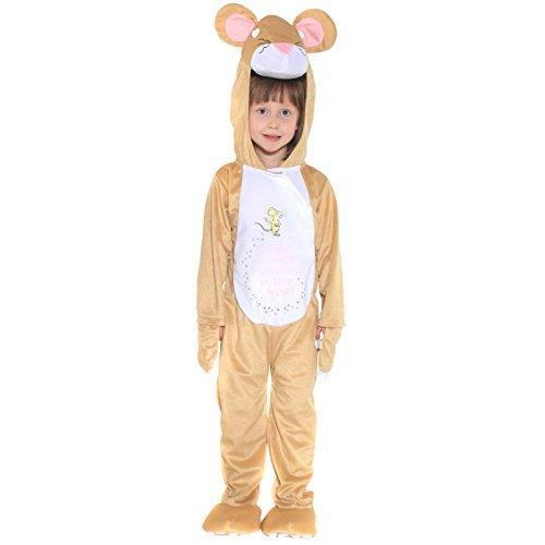 Grüffelo Maus Kostüm - 3-5 - Gruffalo Kostüm