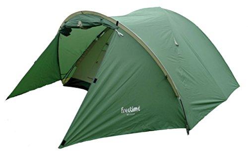 Freetime-Tentes dôme avec avancée 3/4 pl-Mareo-Tente de Camping