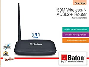 IBALL 150M WIRELESS-N ADSL2+ ROUTER DRIVER FOR WINDOWS MAC