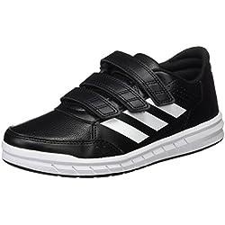 adidas Altasport CF, Zapatillas Unisex Niños, Negro (Core Black/Footwear White), 35 EU