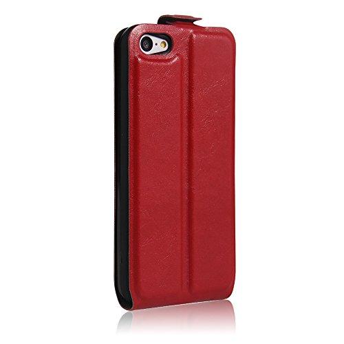 Coque iPhone 5C,Manyip Téléphone Coque - PU Cuir rabat Wallet Housse [Porte-cartes] multi-Usage Case Coque pour iPhone 5C,Classique Mode affaires Style G