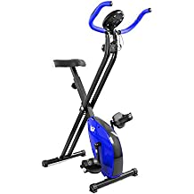 We R Sports X-Bike Blue - Elíptica de fitness ( plegable, imán, magnético ) , color azul