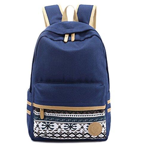 artone-unisexo-casual-mochila-rayas-lona-colegio-mochila-con-ordenador-portatil-compartimiento-azul-