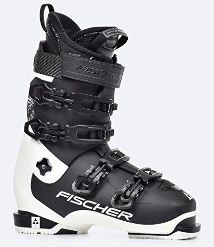 Fischer Herren RC Pro 100 Thermoshape Black Skischuhe, Black/White, 26.5