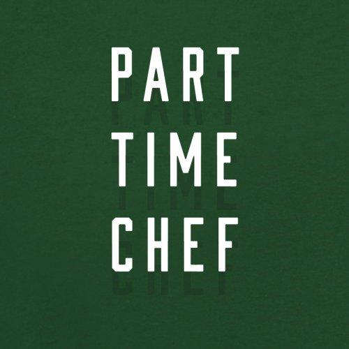 Teilzeit Koch - Herren T-Shirt - 13 Farben Flaschengrün