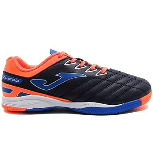 Joma Scarpe Calcetto Junior - Toledo Jr 803 Navy Indoor - 33,5EU