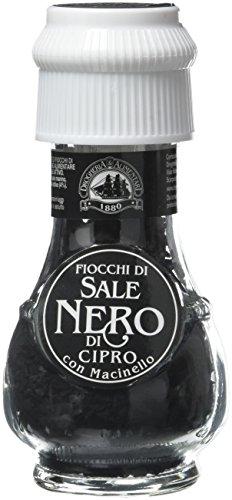 Drogheria e Alimentari Spa QVVM320, Sale Nero di Cipro, 50 g