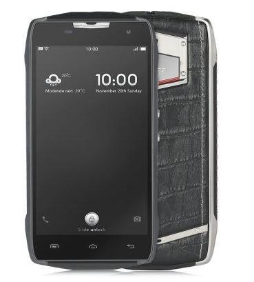 Doogee T5 Lite 4G Smartphone - Businessport téléphone IP67 avec double style 8MP 2 Go de RAM 16 Go imperméable à la poussière Crocodile Texture batterie 4500mA charge rapide