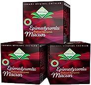 MACUN Turkish honey, 3 pcs x 240 g = 720 Gram, Made in Turkey.