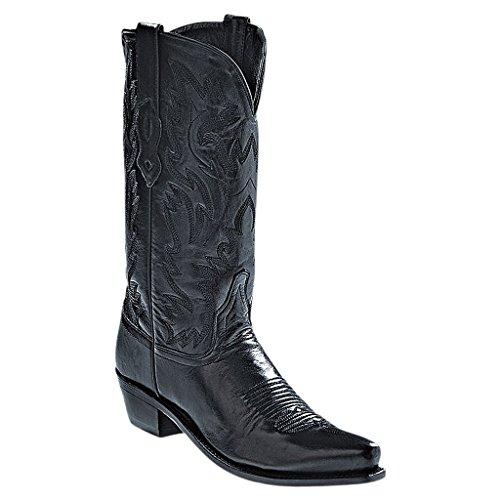 Old West Westernstiefel Cornell schwarz | 41 (Old Western-cowboy-stiefel West)